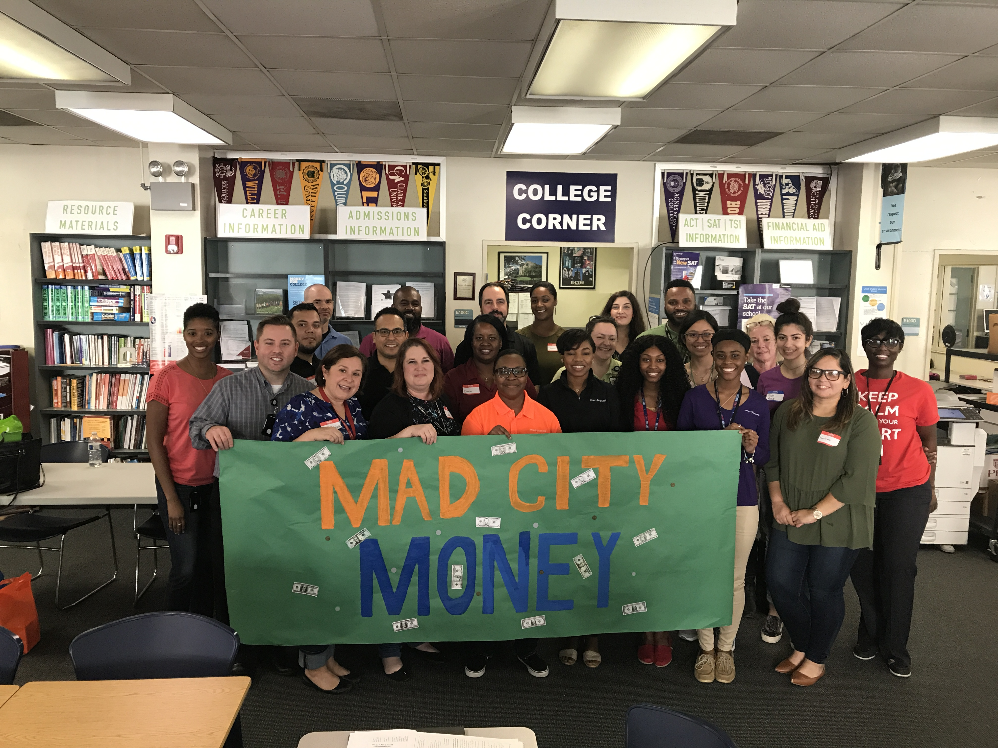 Mad City Money at Stafford and Lamar High School