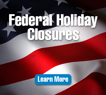 Federal Holiday Closures